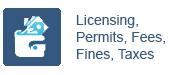 Licensing, Permits, Fees, Fines, Taxes
