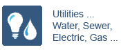 Utilities ... Water, Sewer, Electric, Gas ...