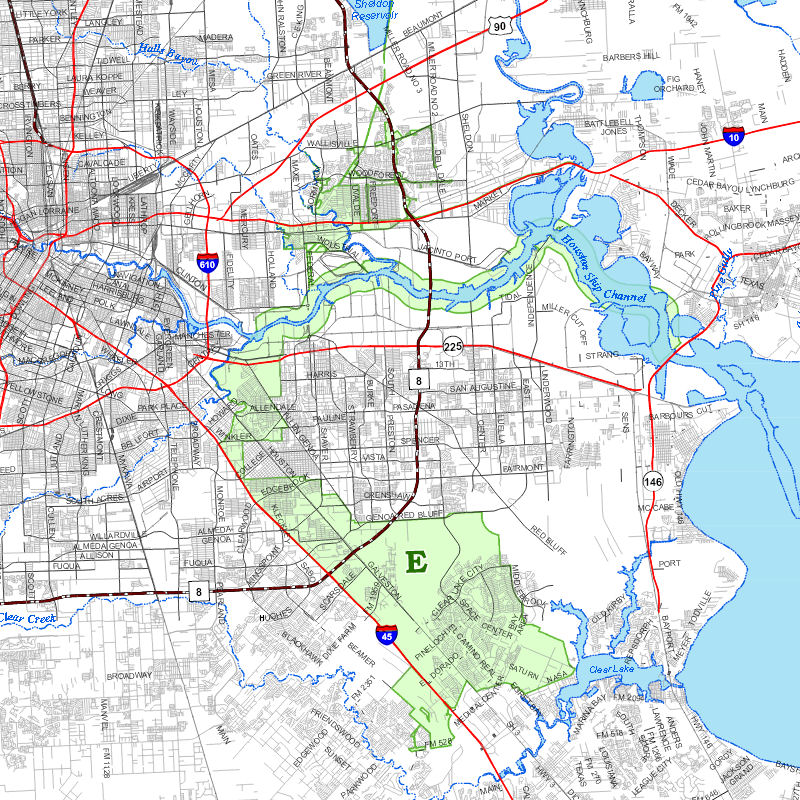 Maps of District E