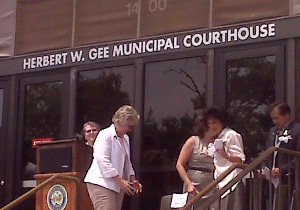 Court House Naming Ceremony