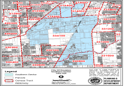 Tract 24 Map South Sector