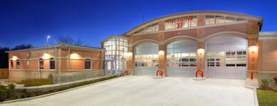 Fire Station 37, Photo by Jonathan Jackson
