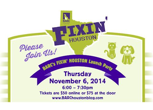 BARC Fixin' Houston Clinic Fundraiser