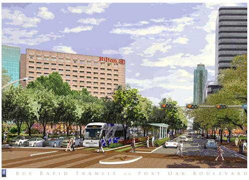 Post Oak Rapid Transit and Memorial Park Reforesting