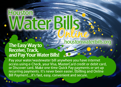 Pay Your Water Bills Online