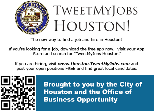 Tweet My Job Houston