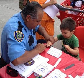 HPD, GHLPA Join Together to Prevent Missing Children