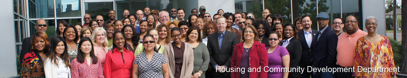 Housing Department Staff